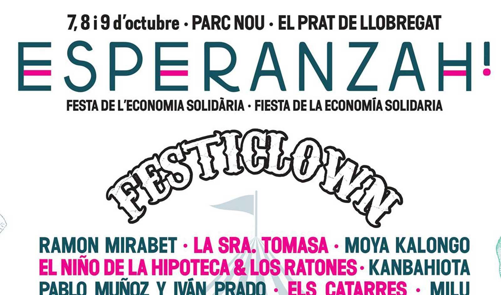 No et perdis el diumenge 9 d'octubre el Festival Esperanzah!, serà un punt de trobada per exigir l'obertura de fronteres
