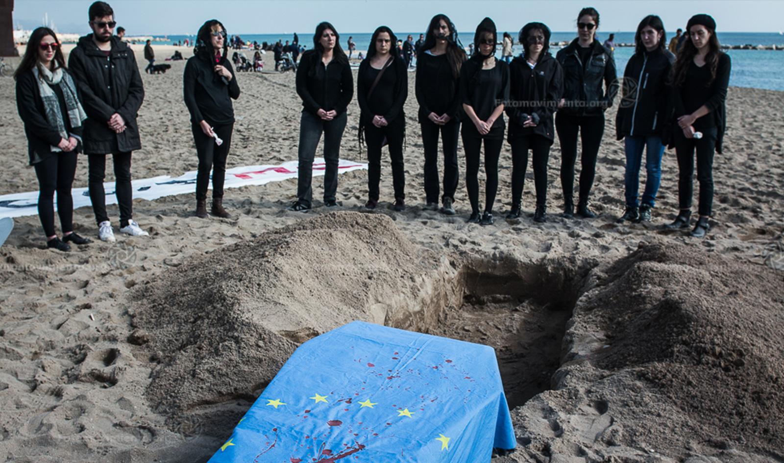 #NoUEFortaleza, los Estados entierran los Derechos Humanos