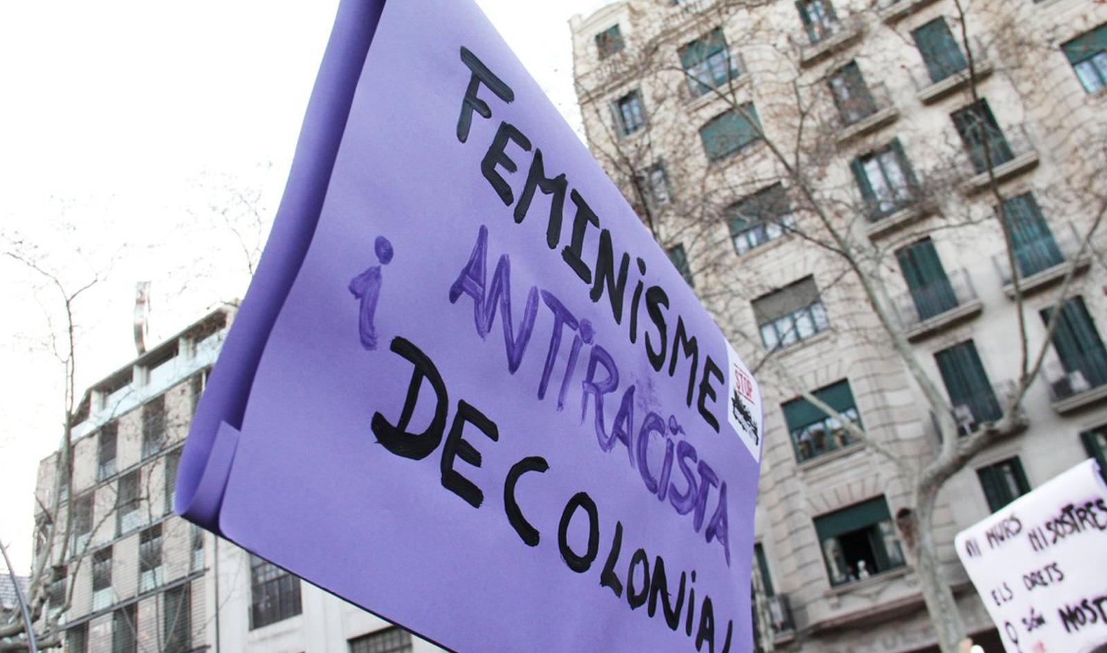 8M: vaga feminista perquè volem dones lliures en terres lliures