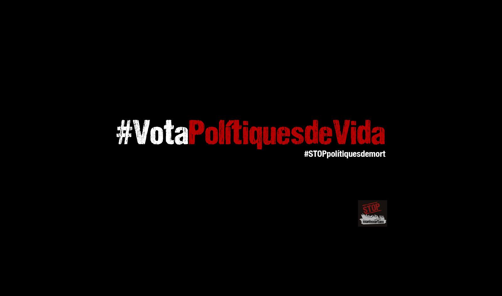 El 28A #VotaPolítiquesDeVida
