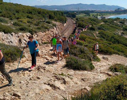 """16J: Vine a fer el """"Camí de refugi"""" per commemorar el dia de les persones refugiades"""