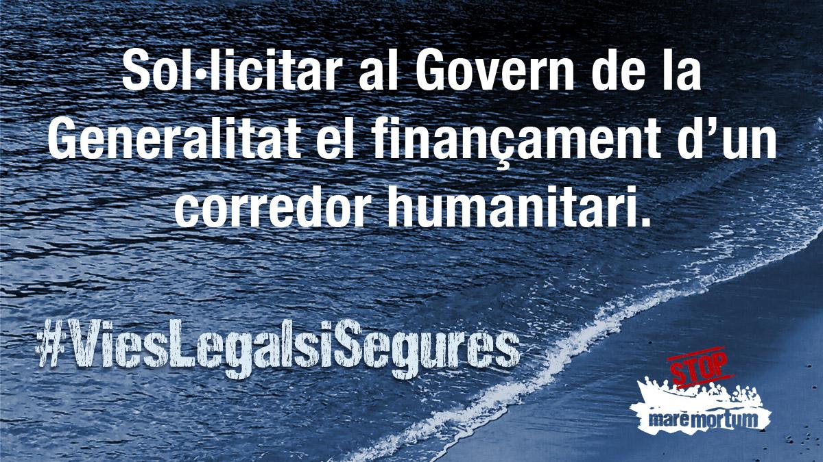 El debat sobre vies legals i segures a les portes del ple del Parlament de Catalunya
