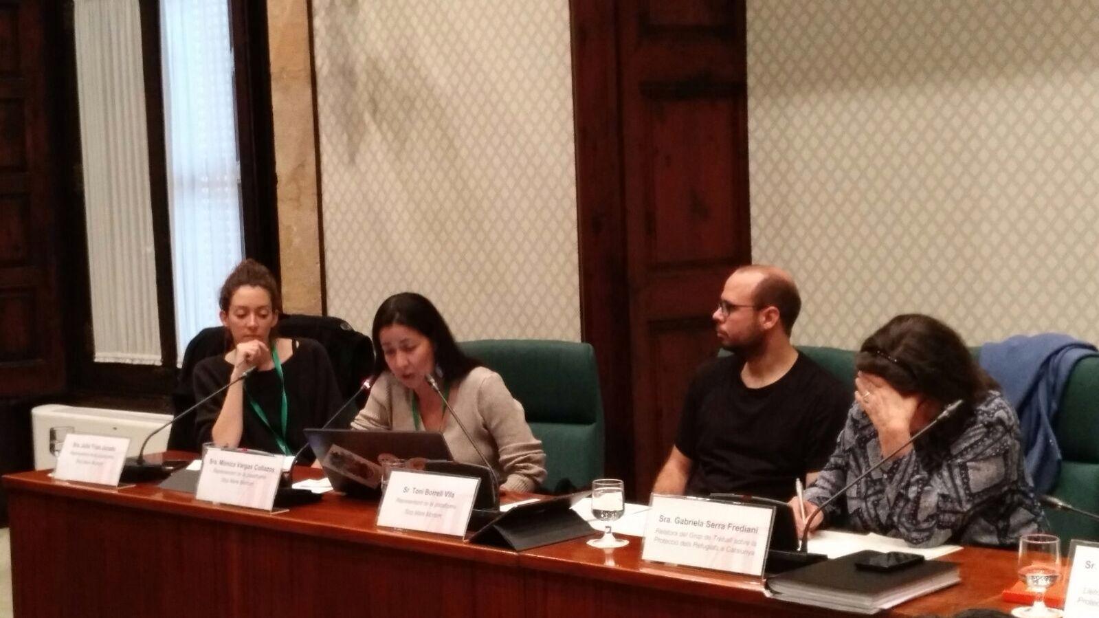 Stop Mare Mortum treballa al Parlament de Catalunya per a la proteccióinternacionala Catalunya