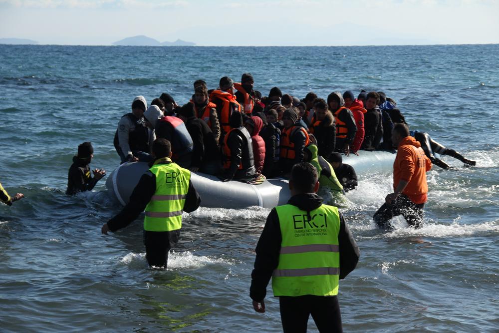 Rescat de dimarts 19 de gener de 2016 al matí. sud de Lesbos