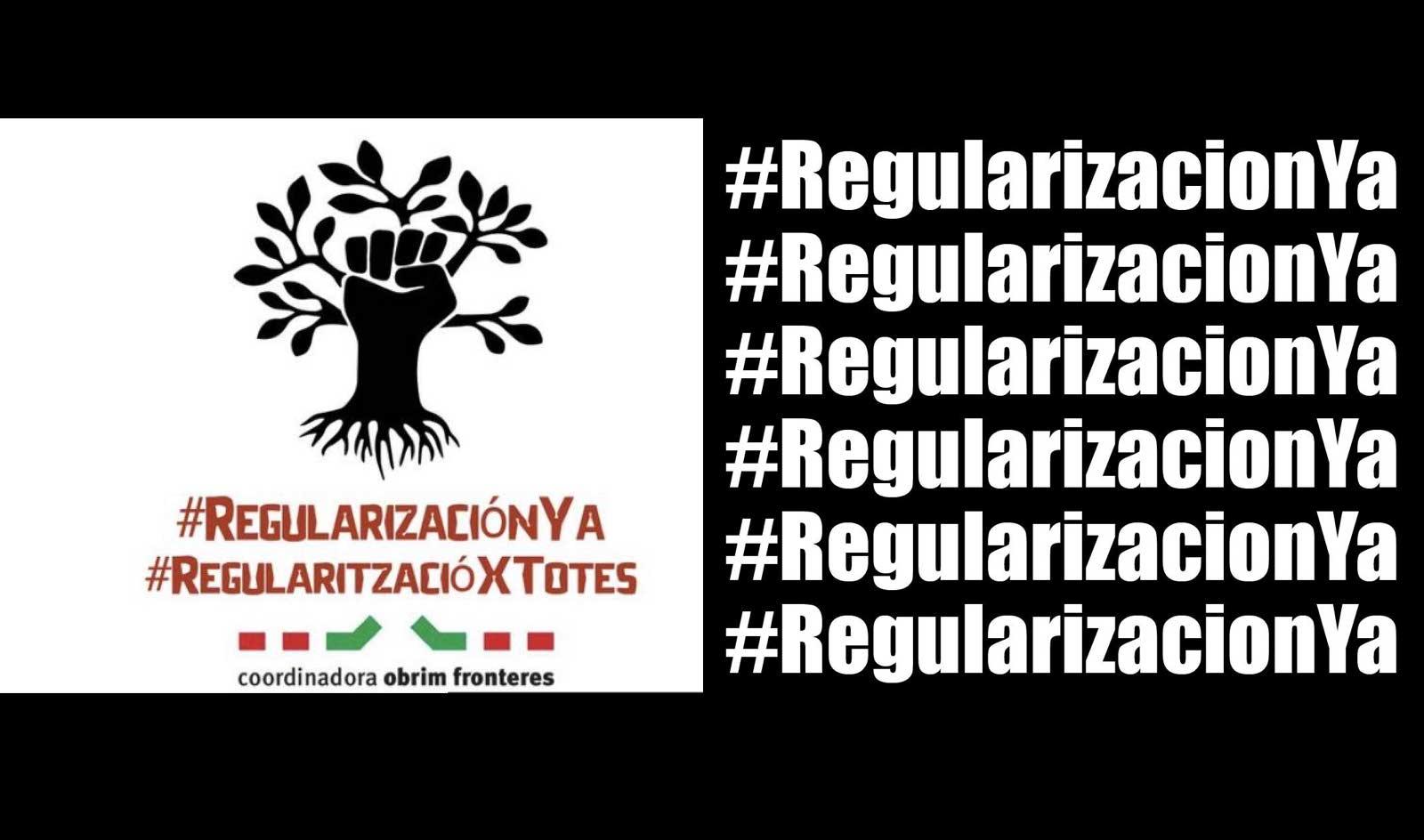 En temps de covid19: #RegularitzacióJa!