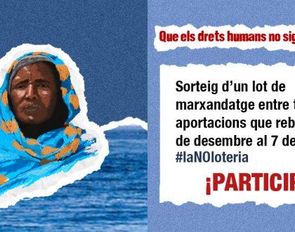 Aquest Nadal engeguem la campanya #LaNoLoteria, t'hi sumes?